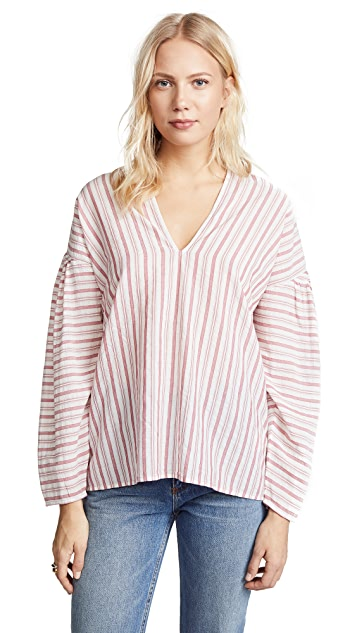 stripe-pullover by vince