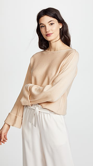 Vince Twisted Seam Pullover