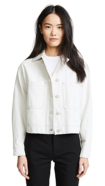 Vince Cropped Utility Jacket