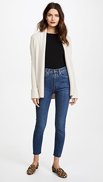 Vince Wide Collar Cardigan