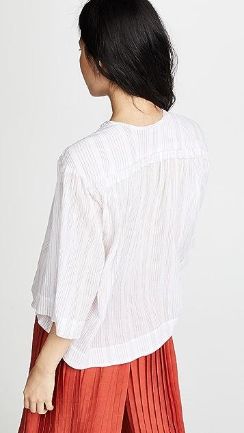 Vince Flutter Sleeve Pullover