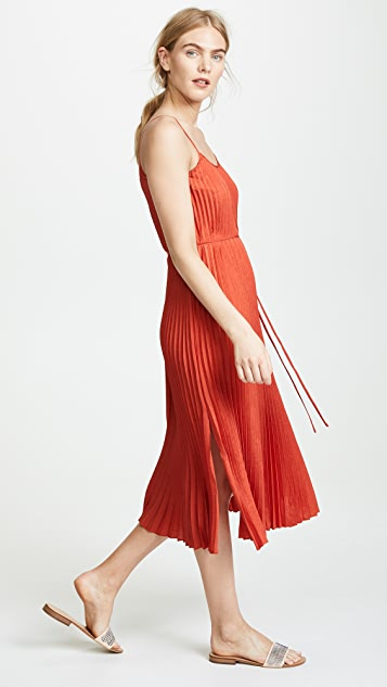 Vince Pleated Cami Dress