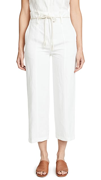 Vince High Rise Cropped Pants