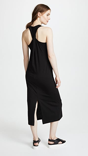 Vince Twisted Back Tank Dress