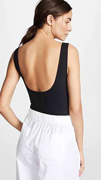 Vince Square Neck Bodysuit