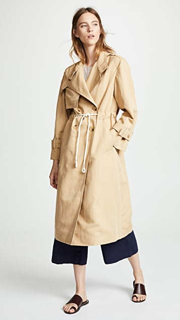 Vince Long Trench Coat