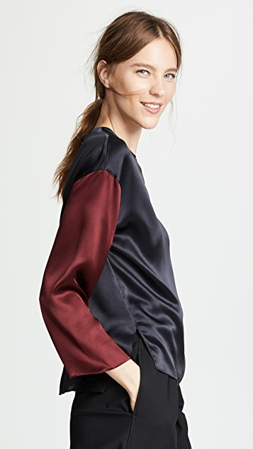 Vince Long Sleeve Blouse