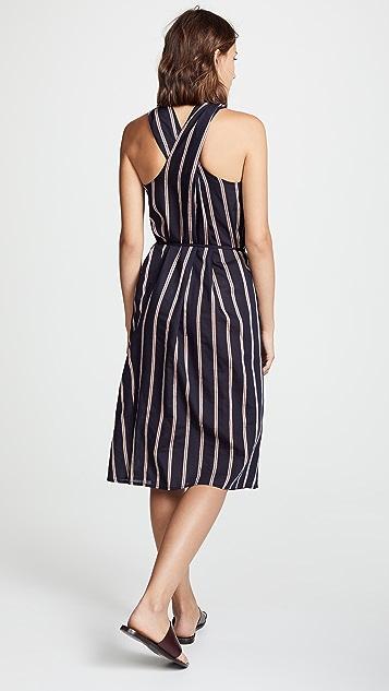 Vince Twist Front Halter Dress