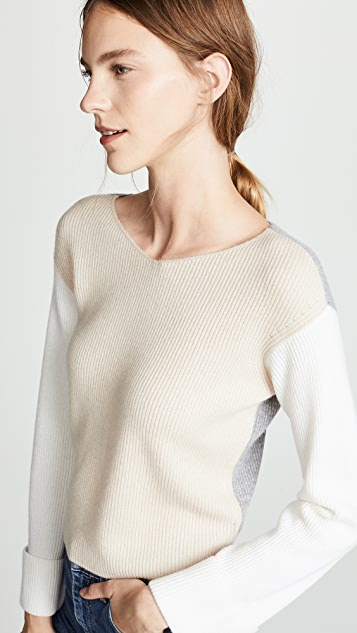 Vince Colorblock Pullover