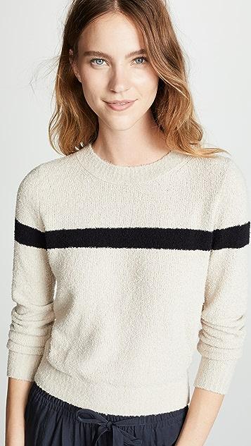 Vince Single Stripe Pullover