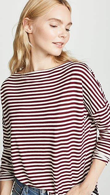 Vince Midi Stripe Top