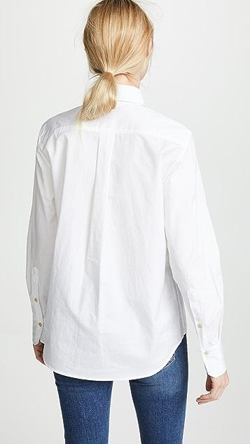 Vince Classic Button Down Shirt