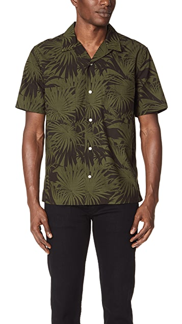 Vince Palm Leaf Cabana Shirt