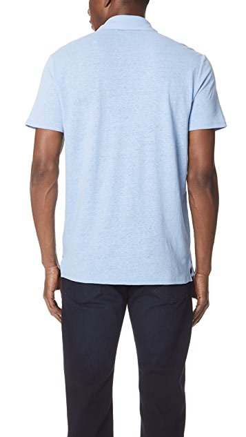 Vince Short Sleeve Polo Shirt