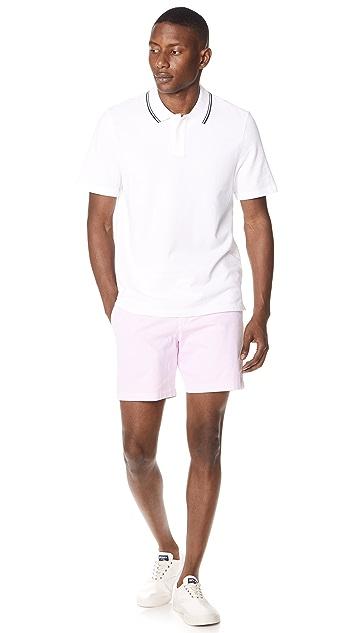Vince Rib Tipped Polo Shirt