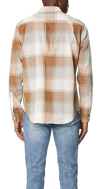 Vince Vintage Plaid Shirt