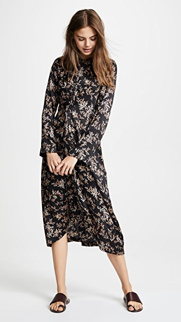 Vince Драпированное платье Eden