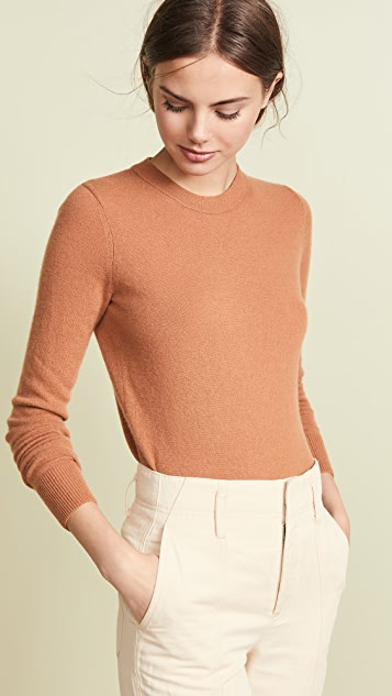Vince Overlay Cashmere Sweater