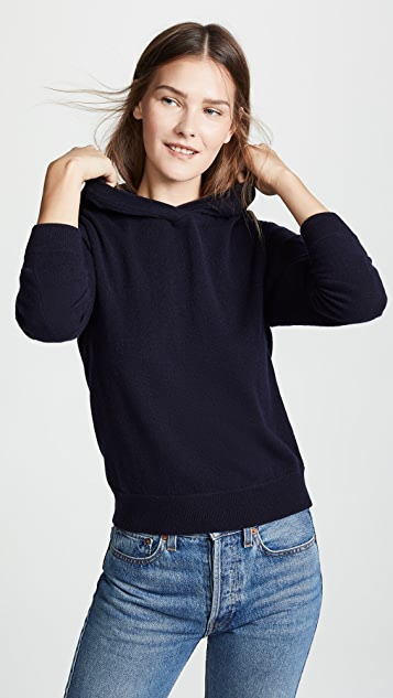 Vince Overlap Cashmere Hoodie