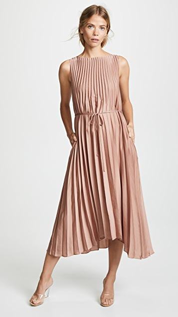 Vince Pleated Dress