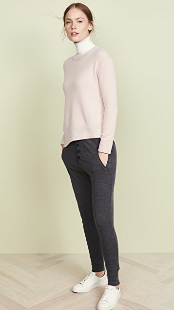 Vince Asymmetric Cashmere Sweater