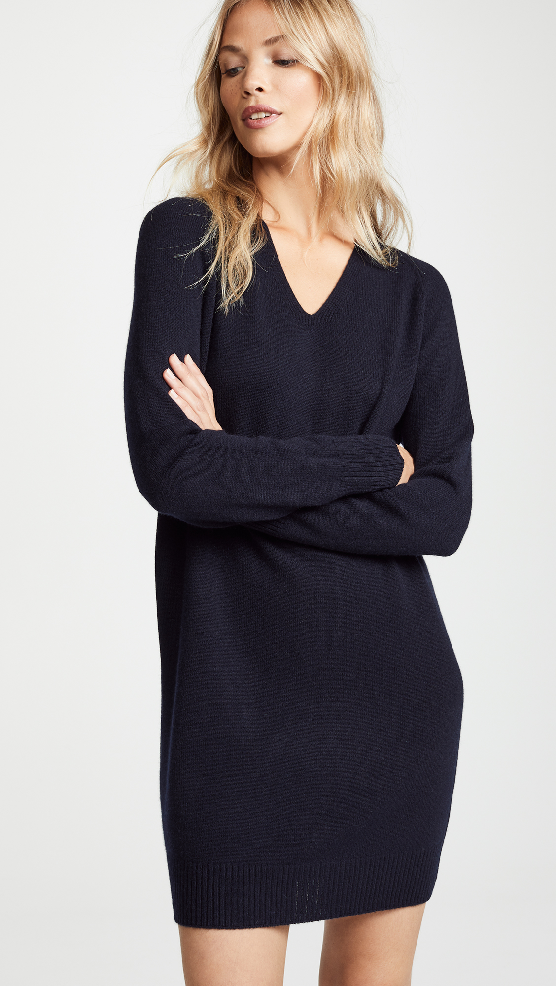V Neck Sweater Dress | SHOPBOP