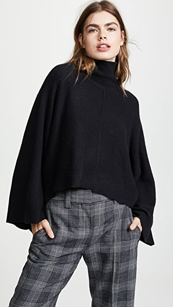 Vince Turtleneck Poncho