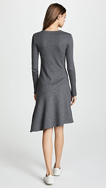 Vince Asymmetric Midi Dress