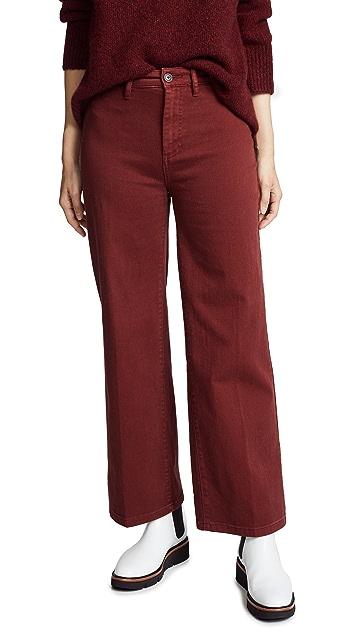 Vince Cropped Denim Jeans