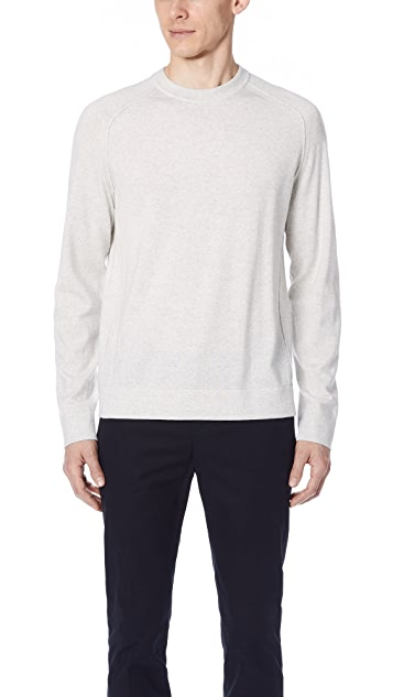 Vince Seamed Crew Sweater