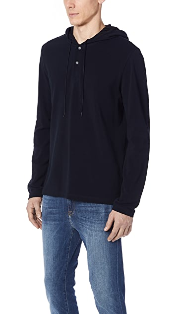 Vince Hooded Henley