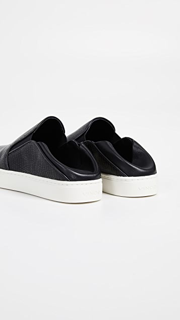 Vince Garvey Slip On Sneakers