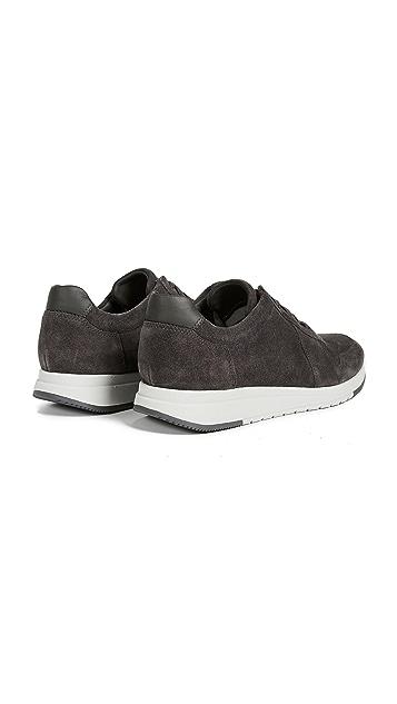 Vince Pryor Suede Trainer Sneakers
