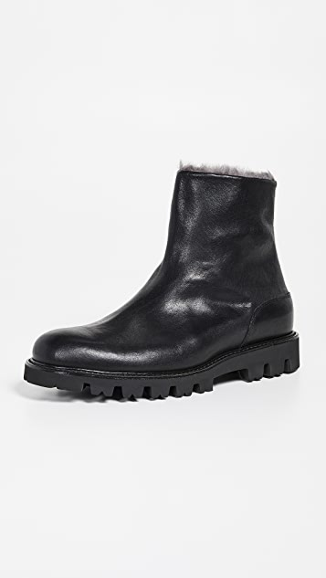 Vince Counter Shearling Lined Boots