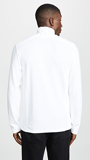 Vince Waffle Turtleneck Long Sleeve Shirt