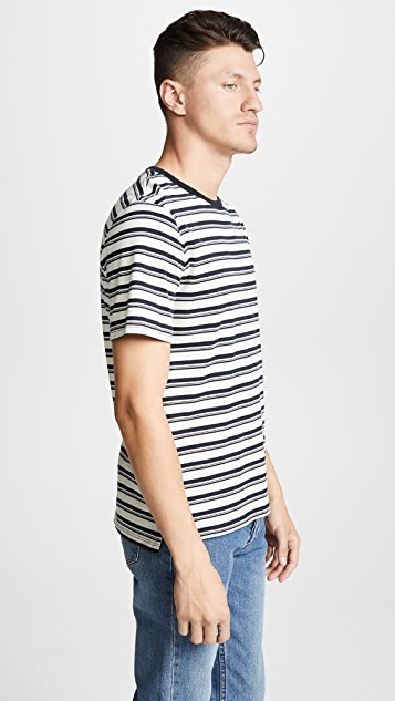 Vince Variegated Short Sleeve Tee
