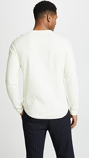 Vince Double Knit Henley