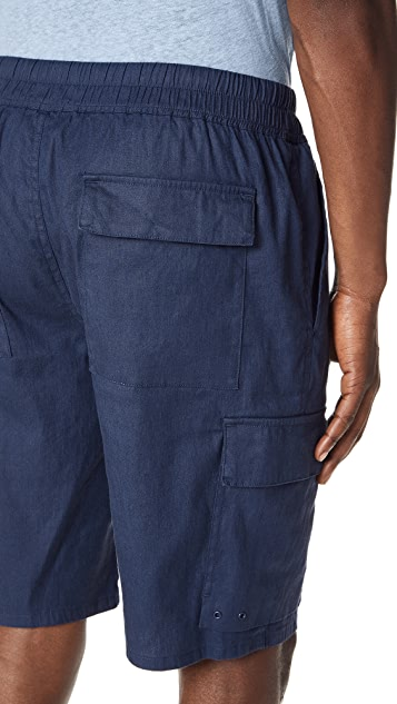 Vince Drawstring Cargo Shorts