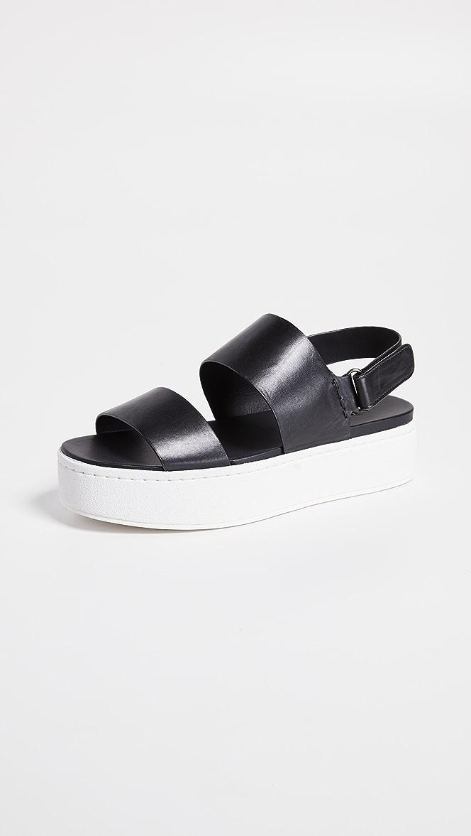 Vince Womens Westport Platform Sandals