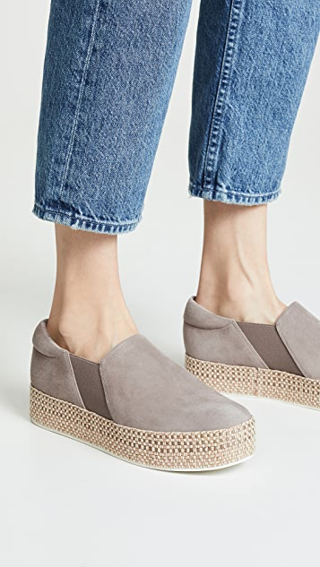 Vince Wilden Platform Slip On Sneakers
