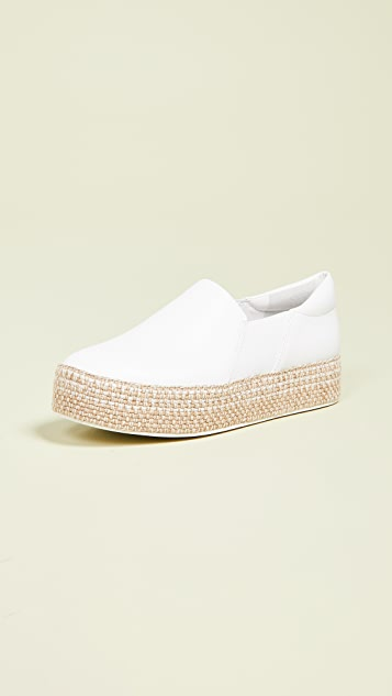 Vince Wilden Platform Slip On Sneakers