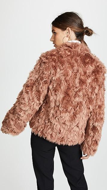Vince Plush Jacket