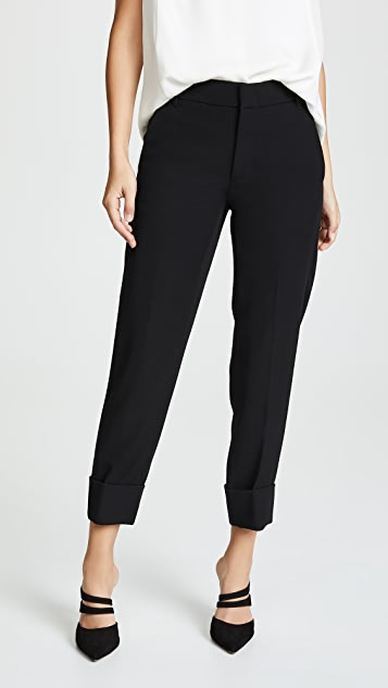 Vince Cuffed Coin Pocket Trousers