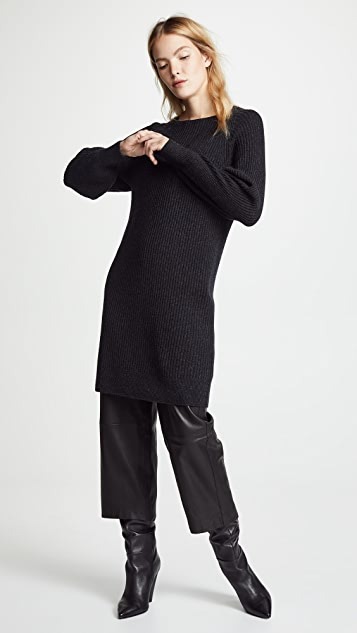 Vince Ribbed Dress