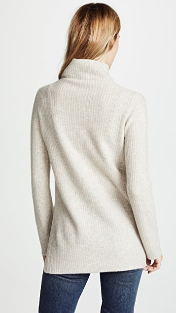 Vince Turtleneck Tunic Pullover