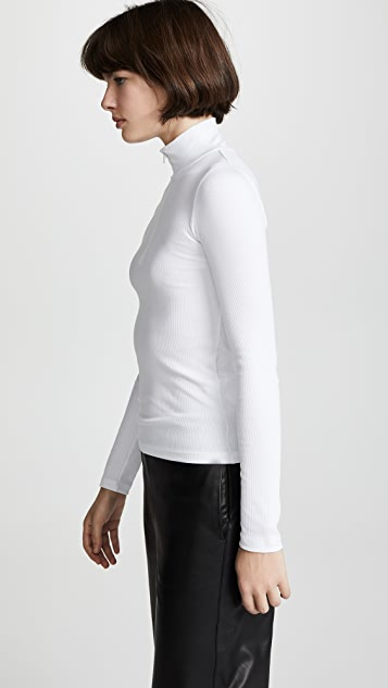 Vince Long Sleeve Half Zip Pullover