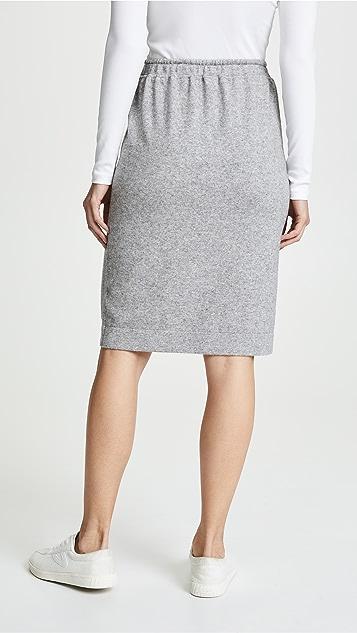 Vince Sweatshirt Skirt