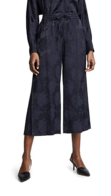 Vince 提花裤裙