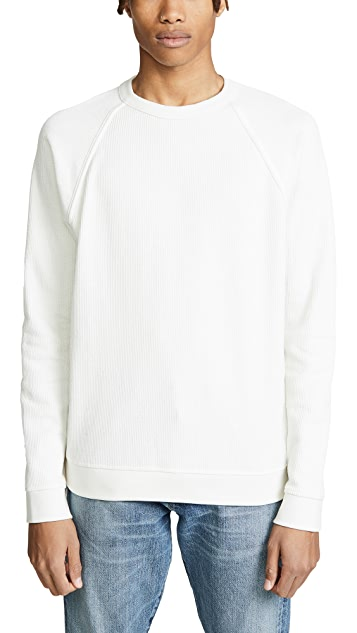 Vince Flatback Rib Crew Neck Shirt