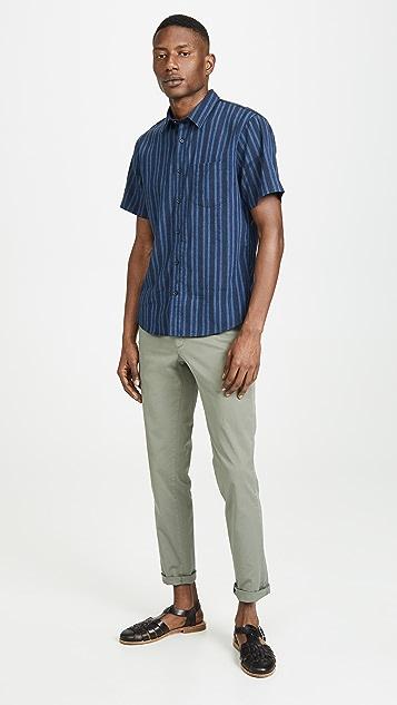 Vince Multi Stripe Shirt